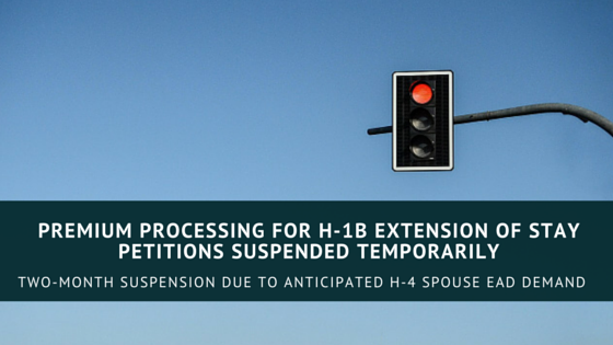 H1B PP Suspended