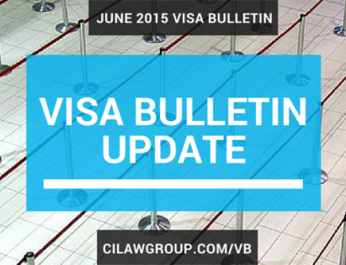 June 2015 Visa Bulletin – EB-2 India and China Continue to Advance Notably; EB-3 Philippines Another Major Retrogression