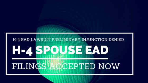 h-4 ead injunction denied