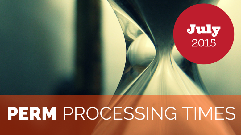 Jul 2015 PERM Processing Times