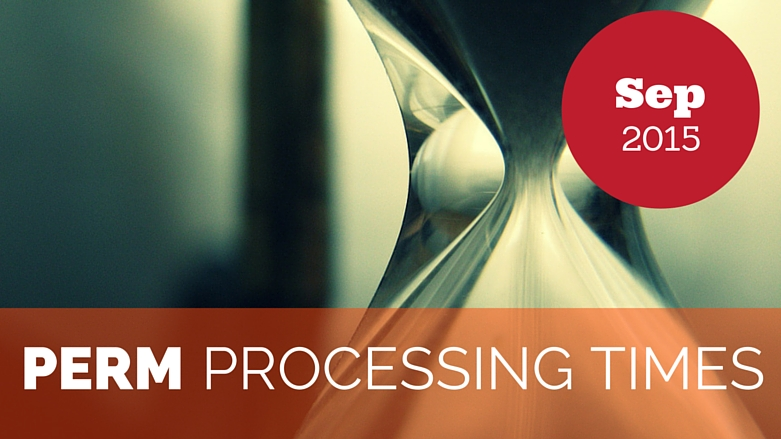 Sep 2015 PERM Processing Times