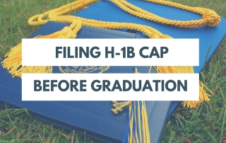 Filing H-1B Cap Before Graduation
