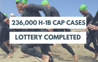H-1B cap lottery completed.