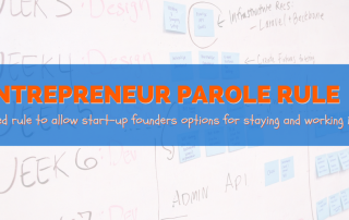 entrepreneur parole rule for startup founders