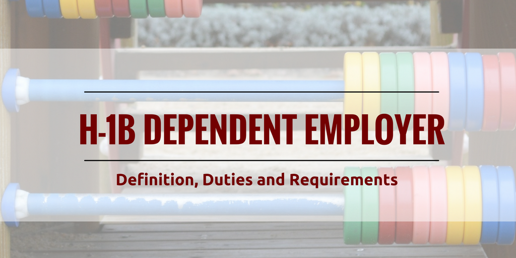 H-1B Dependent Employers
