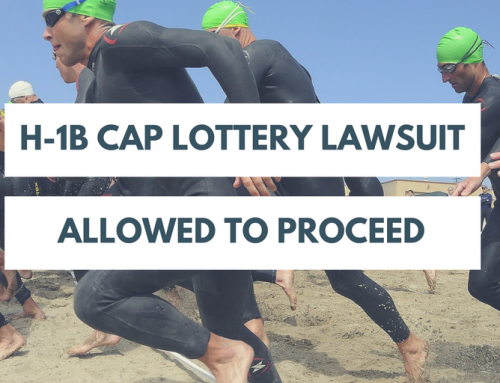 H-1B Cap Lottery Lawsuit Allowed to Proceed
