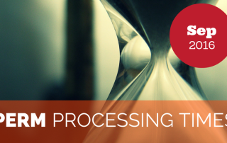 PERM Processing Times September 2016