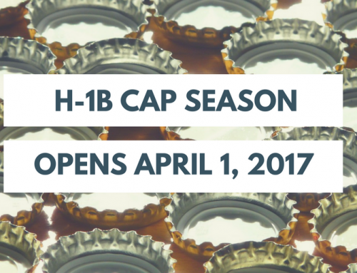 H-1B Work Visa Cap Season Is Underway – Opens for New Filings on Monday, April 3, 2017
