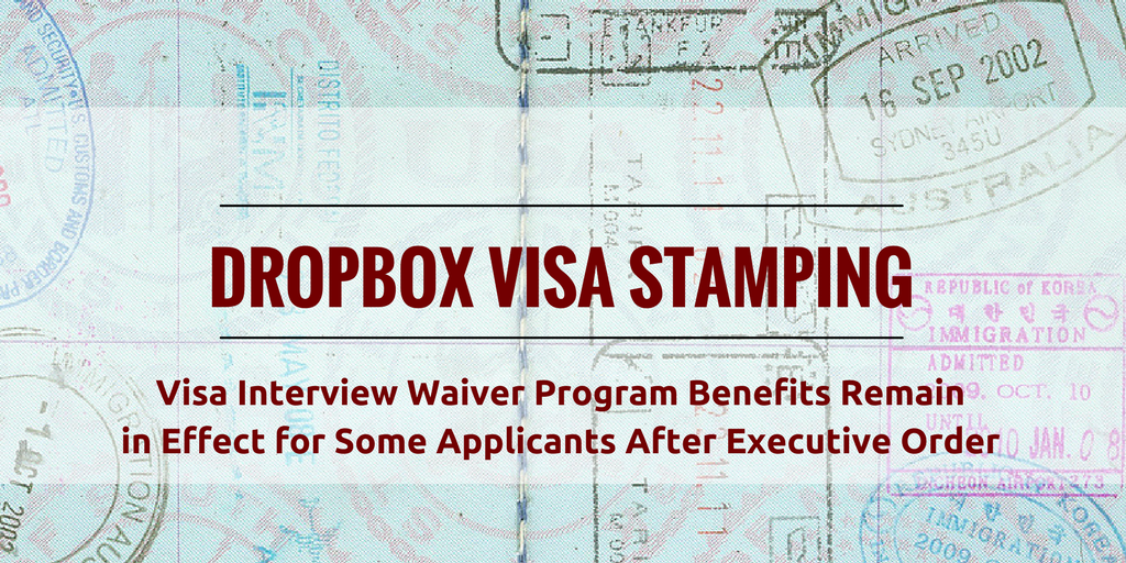Visa Interview Waiver Program