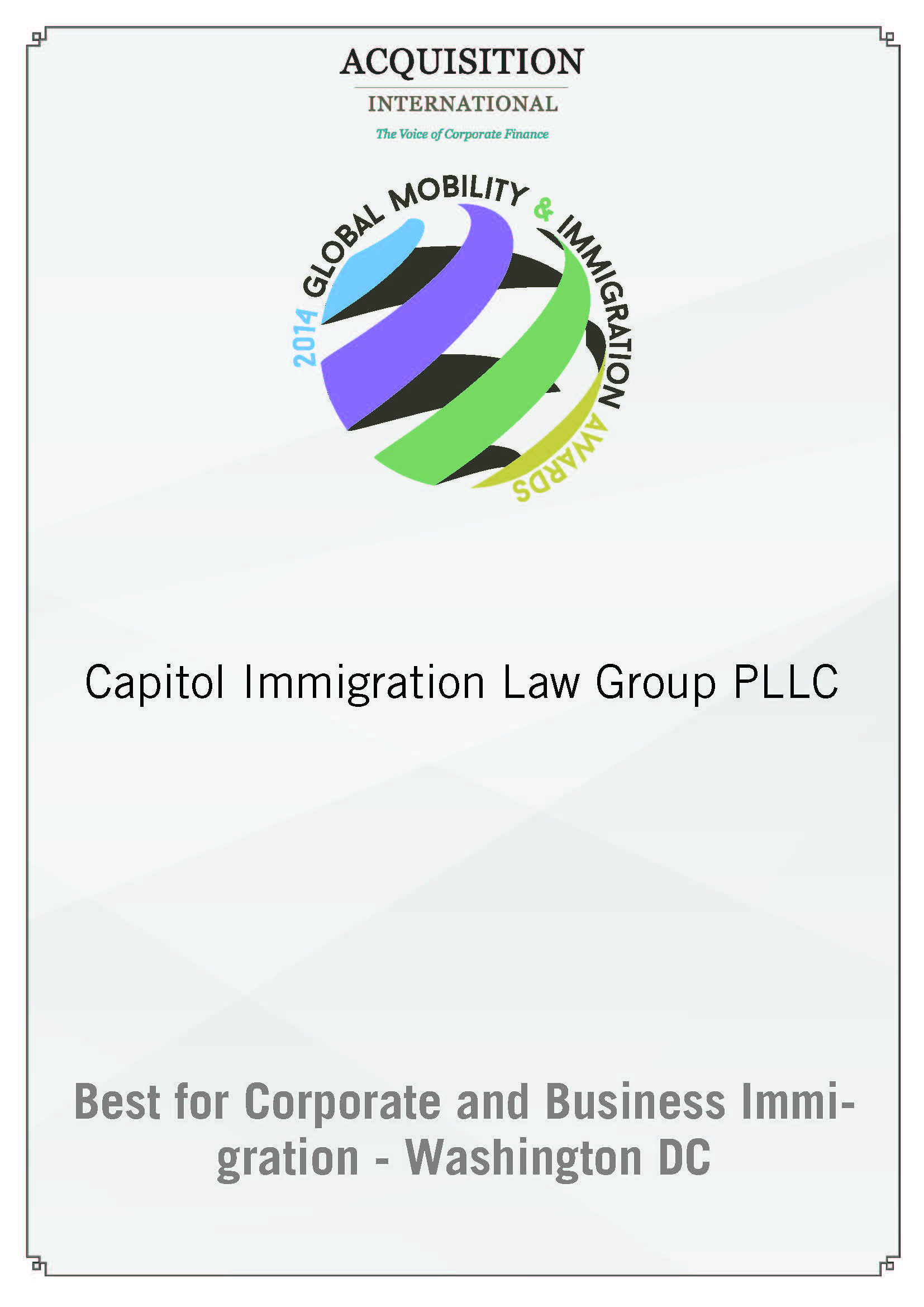 Certificate_best_for_corporate_and_business_immigration_washington_dc 3