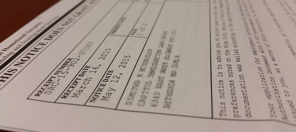 USCIS Receipt Numbers Explained (LIN, SRC, EAC, WAC, IOE