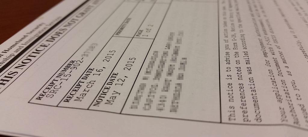 Uscis Receipt Numbers Explained Lin Src Eac Wac Ioe Capitol