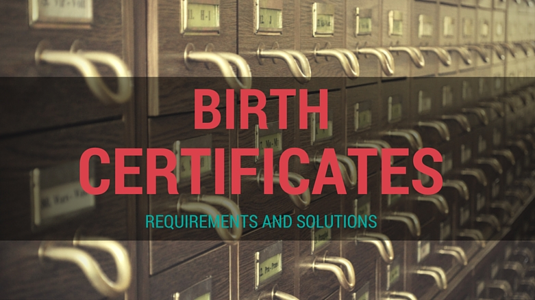 Birth Certificates For Immigration Requirements And Solutions