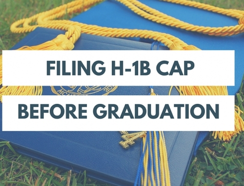 How to File an H-1B Cap Petition When the Current Degree is Still Underway?