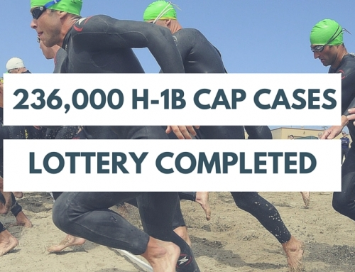 Alert: FY2017 H-1B Cap Demand Among Highest Ever; Random Lottery Just Completed