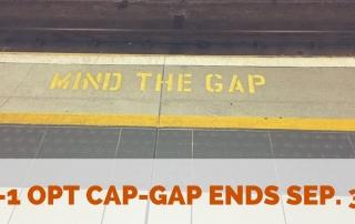 OPT Cap-Gap Valid Until September 30