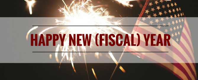 new government fiscal year begins October 1
