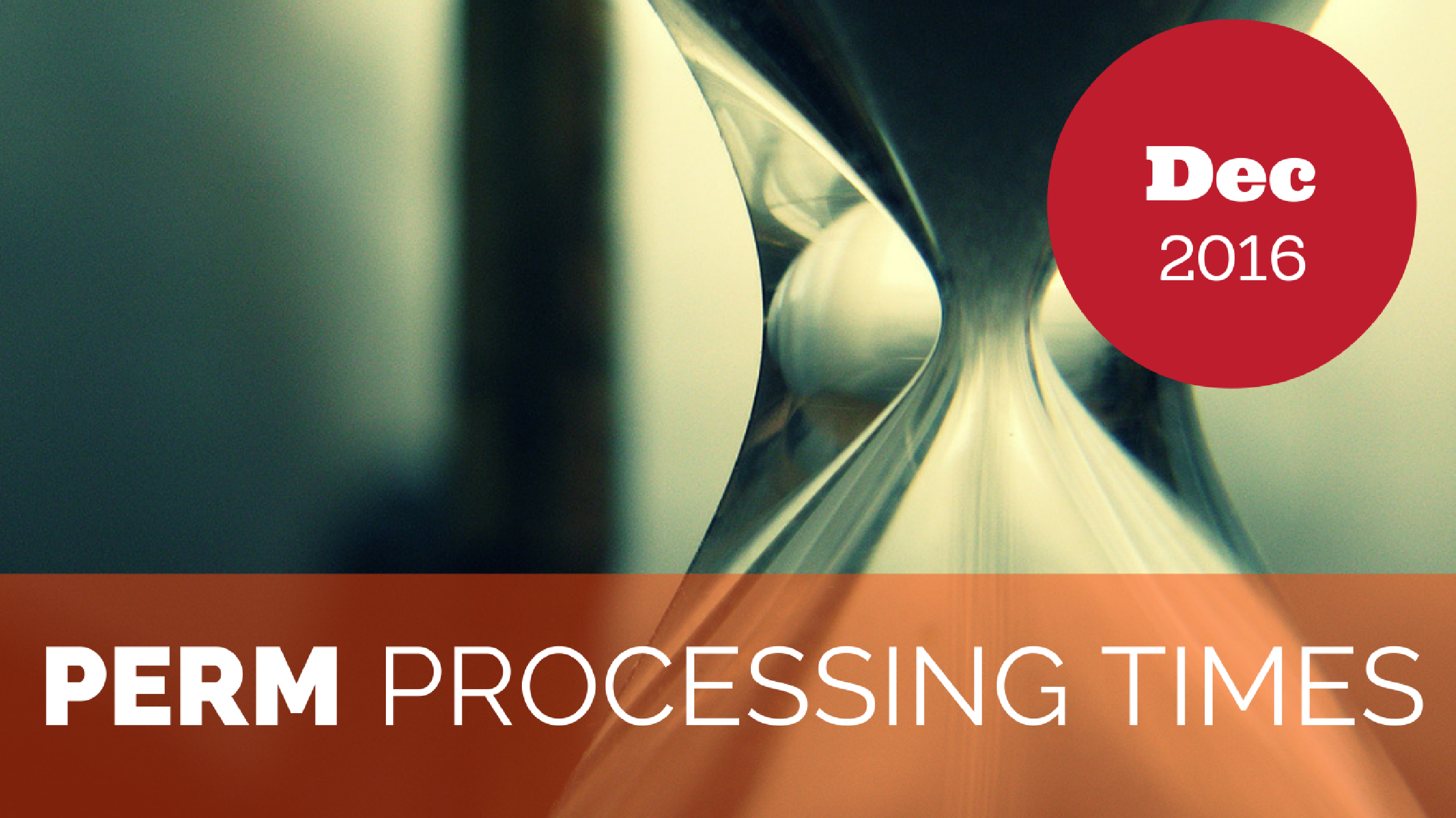 PERM Processing Times December 2016