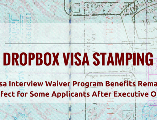 "Executive Order Suspends (at Least Parts of) the Visa Interview Waiver ""Dropbox"" Program"