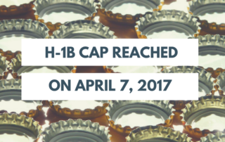 H-1B Cap Reached FY2018