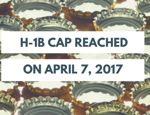 Alert: FY2018 H-1B Cap Reached on April 7th
