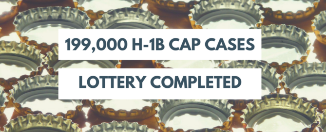 H-1B cap lottery completed