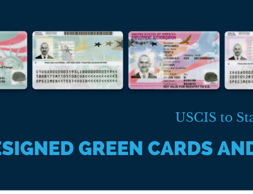USCIS Starts Issuing Redesigned Green Cards and EADs