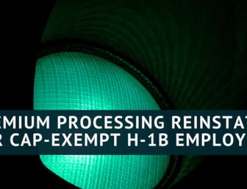 Premium Processing for H-1B Cases Starting to Come Back, Gradually