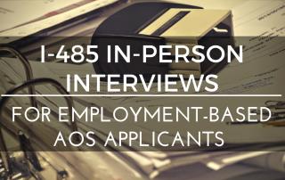 I-485 interviews