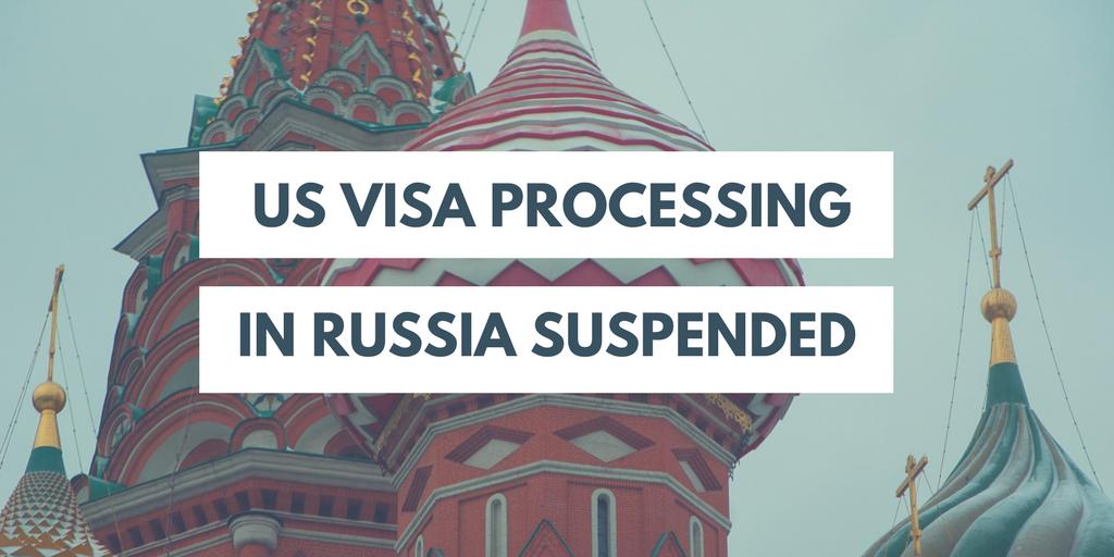 Nonimmigrant Visa Services Suspended at US Consulates in