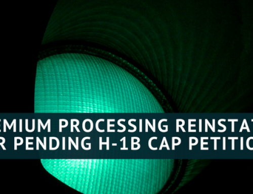 Premium Processing for Pending H-1B Cap Cases Reinstated