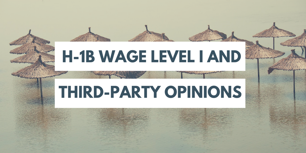 Wage Level I RFEs: How Helpful are Third-Party Professor