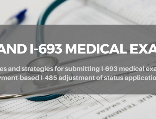 Should I-693 Medical Exams be Submitted with the Initial Employment-based I-485 Adjustment of Status Filing?