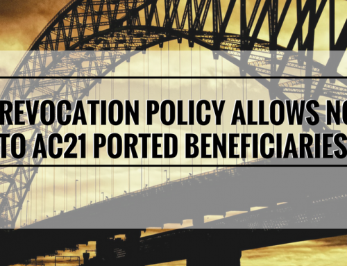 New USCIS Policy Creates I-140 Revocation Notice Rights to AC21 Porting Beneficiaries; Requires Proactive AC21 Porting Filing