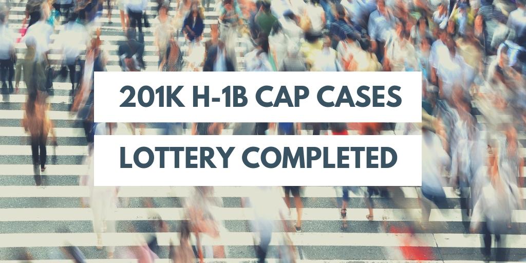 Alert: FY2020 H-1B Cap Demand Very Strong